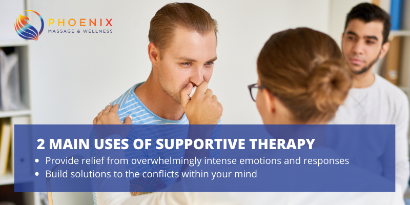 2 Main Uses of Supportive Therapy