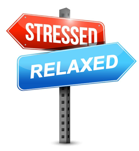 Stressed and Relaxed - Phoenix Massage & Wellness