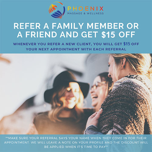 Get $15 Off When You Refer a New Patient
